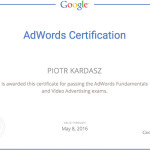 Piotr Kardasz Video Adwords